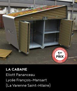 1er prix du concours DZD 2020 : le projet La Cabane d'Eliott Pananceau