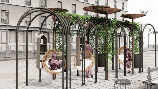 Perspective du projet Wagon de Paris créé par Ouat-design